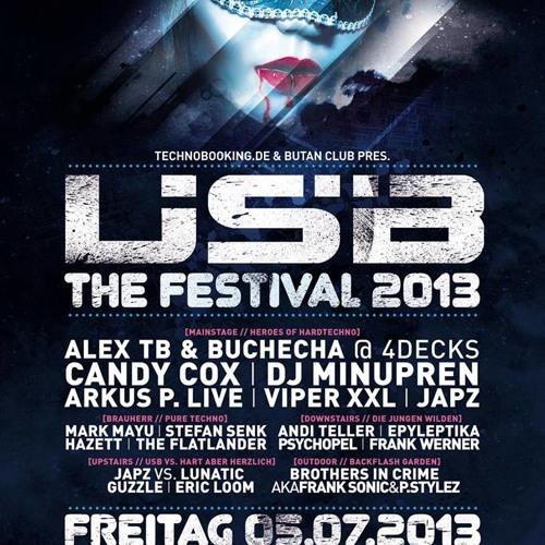Mark Mayu @ USB Festival 2013 - Butan Wuppertal