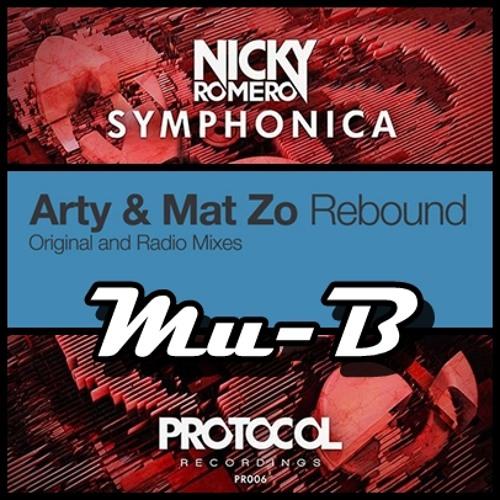 Nicky Romero Vs Arty & Mat Zo - Rebounded Symphonica (Mu-B Mash-up)