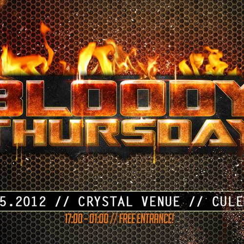 Johnny Napalm & HardT3k-Tic @ Bloody Thursday (17-05-2012)