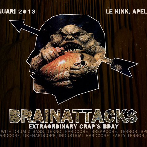 Johnny Napalm @ Brainattacks (Promo Mix)13-01-2013
