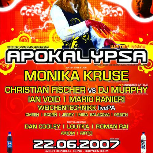 Apokalypsa Water Gate @ Boby Centrum Brno, Czech Republic 22.6.2007
