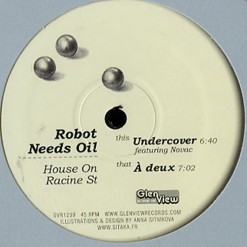 GVR1209 — Robot Needs Oil — House On Racine Street 12""