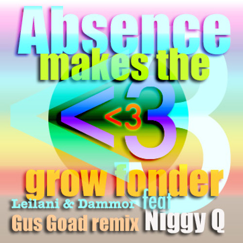 ABSENCE MAKES THE HEART GROW FONDER - Leilani & Dammor (Feat. NiggyQ) - REMIX by Gus Goad (2013)
