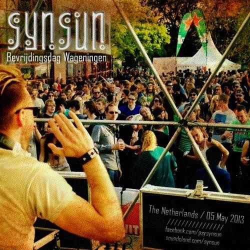 SynSUN - Dj Set @Bevrijdingsdag Wageningen, The Netherlands (05.05.2013)