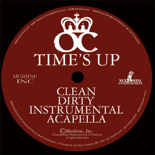O.C - TIME'S UP (prodouche bags remix) FREE DOWNLOAD.