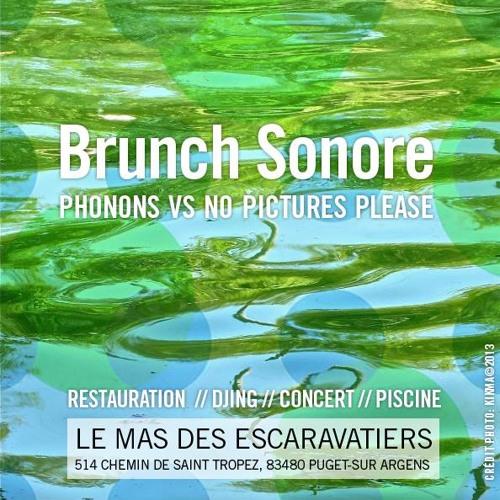 """Watson - """"Brunch Sonore @ Le mas des escaravatiers"""""""