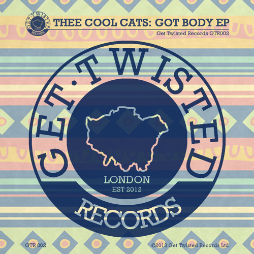Thee Cool Cats - Once Again (Get Twisted Preview) out 8/7/13