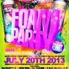 SMIRNOFF EXPERIENCE FOAM/GLOW PARTY @ SNORKEL PARK - JULY 20TH