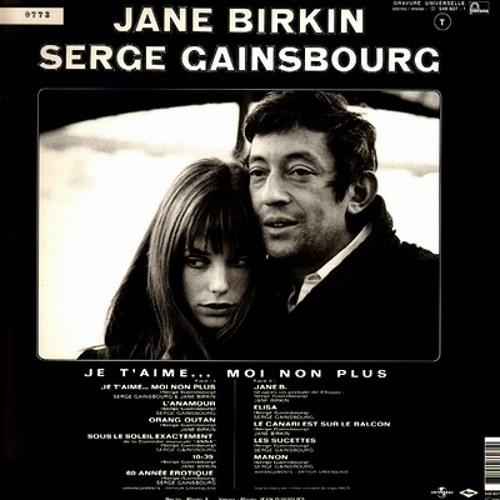 Jane Birkin et Serge Gainsbourg - Je t'aime... moi non plus ( Piratech refix )
