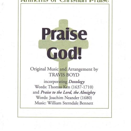 """Praise God!"" copyright Shawnee Press"