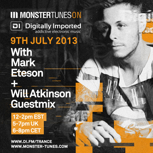 Monster Tunes 041 with Mark Eteson + Will Atkinson Guestmix