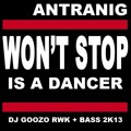 Antranig  -Won't  Stop  Is a Dancer  (DJ Goozo Rwk + Bass  2K13)