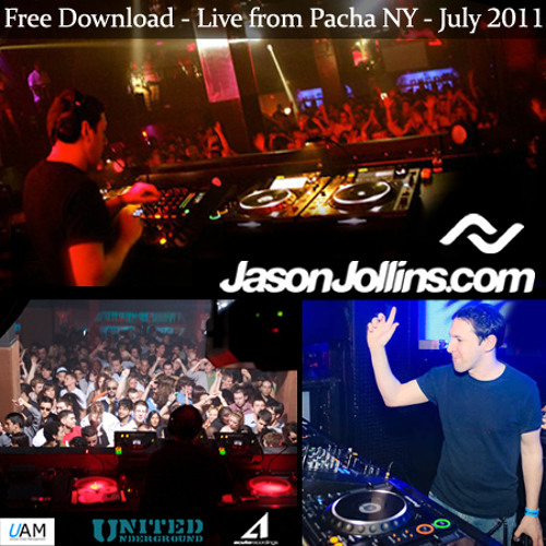 Jason Jollins - July 2011 - Live from Pacha - New York City