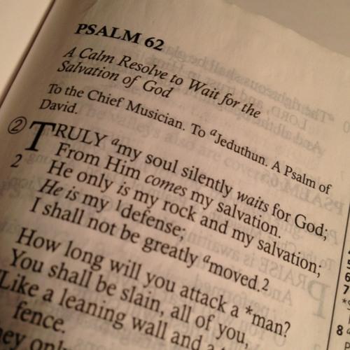 My Soul Waits (Psalm 62)