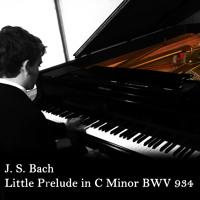 Little Prelude in C Minor - Bach BWV 934