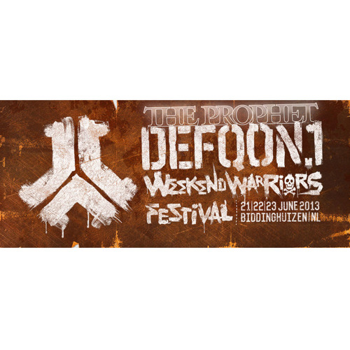 The Prophet at Defqon.1 2013 - Magenta stage