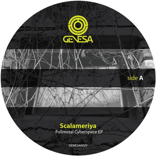 GENESA002V Scalameriya - Fullmetal Cyberspace EP incl. Reeko Remix TEASER
