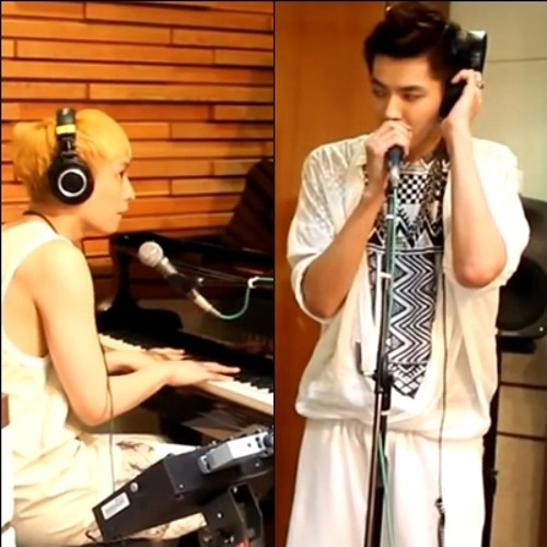 KRIS (吴亦凡) ft. LAY (张艺兴) on piano _ Call You Mine 130607 SSTP Radio