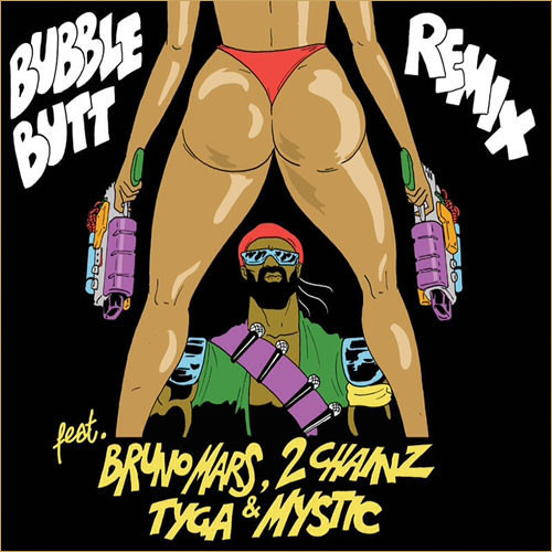 Major Lazer - Bubble Butt (CORRUPTED DATA's 100BPM TWERK REMIX)