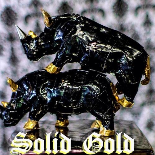 Solid Gold - Plastic Rhino