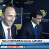 *Banter* Sourav Ganguly  & Naseer Hussain - Eng vs Aus - ICC CT - 2013
