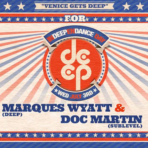 Venice Gets Deep for InDEEPenDANCE 7.3.13 - Doc Martin & Marques Wyatt