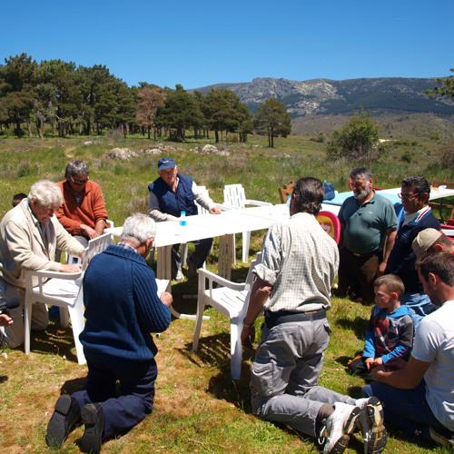Paisajes Sonoros 108. Rezo popular durante la limpieza comunal de la Cacera del Cambrones (Segovia)