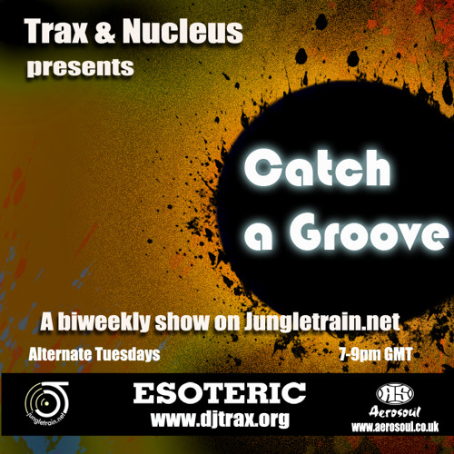 DJ Trax - Catch a Groove 32 - All Vinyl Set (Live On Jungletrain 10.07.13)