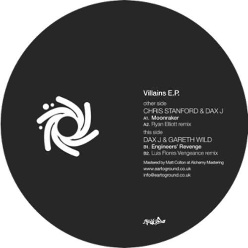 gareth wild, dax j & chris stanford - villains ep (album preview)
