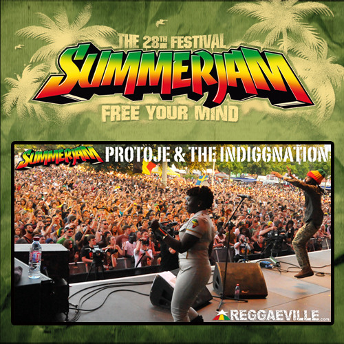 Protoje & The Indiggnation - Music From My Heart @ SummerJam 7/7/2013
