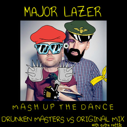 Mashup The Dance [Drunken Masters vs Major Lazer vs Bingo Players] [Wydeyes Mashup]