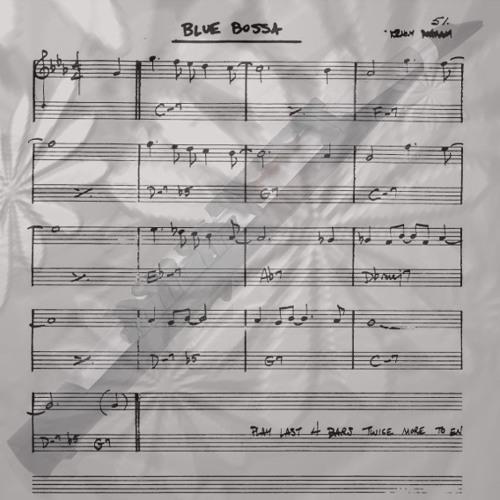 BLUE BOSSA (Kenny Dorham)   (Collaboration Humberto E / Alberto G / Vasilis P.)