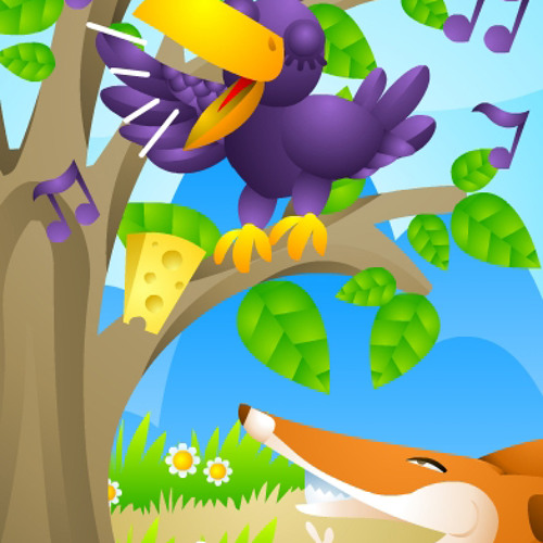 """Digital tale""""The fox and the crow""""-02-TellingTheStory"""