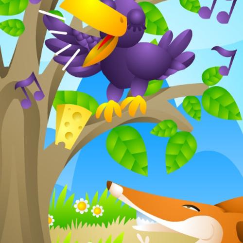 """Digital tale""""The fox and the crow""""-03-LullabyTheme"""