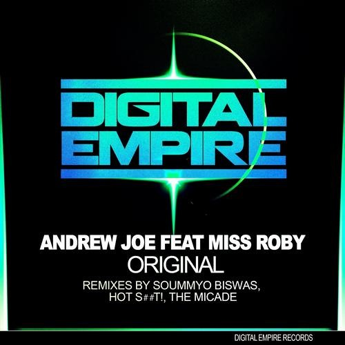 DER0116: Andrew Joe Feat Miss Roby - Original (Original + Remixes) [Out Now Beatport]
