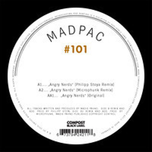 "Angry Nerds EP (Vinyl 12"")  [OUT NOW!]"