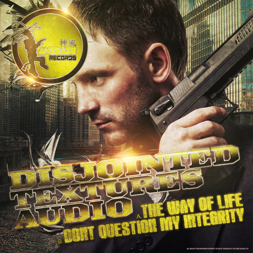 DISJOINTED TEXTURES AUDIO - DONT QUESTION MY INTEGRITY- FORTHCOMING KAMIKAZE RECORDS - 16-09-2013