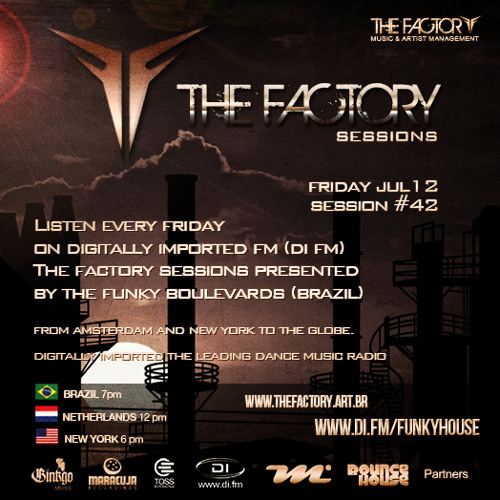 The Factory Sessions #42 Pres. By The Funky Boulevards