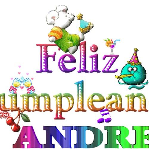 Feliz cumple andrea by djrulo 013 djrulo 013 free - Feliz cumpleanos bebe 1 ano ...