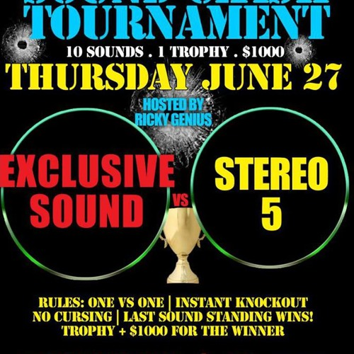 01.EXCLUSIVE SOUND VS STEREO 5 @ XPRESSIONS LOUNGE BRONX NY 27 JUNE 2K13 PT 1