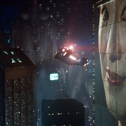 """ The city below "" Bladerunner soundscape"