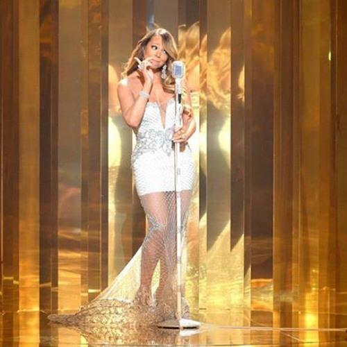 Mariah Carey Performs #Beautiful Remix Ft. Miguel & Jeezy (BET Awards 2013)