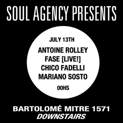 Soul Agency At The Basement presents Antoine Rolley