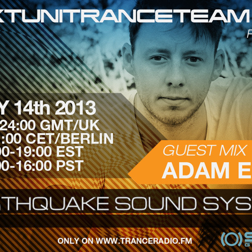 UkTuniTranceTeam140+ Pres. Earthquake Sound System 027 (Adam Ellis Guestmix)