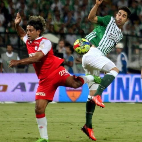 Final de la Liga Postobón 2013 (IDA)Atlético Nacional 0-0 Independiente Santa Fé