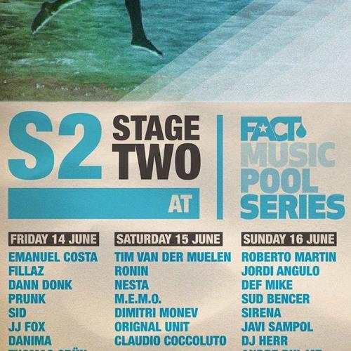 Dimitri Monev@FACT Music Pool Series Sonar OFF'13 (Barcelona)