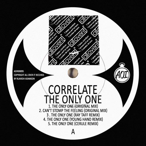 Correlate - The Only One EP remixes from Ray Taff, Young hand and Cerule OUT 09/08/2013