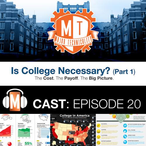 Episode 20 Is College Necessary? Part 1