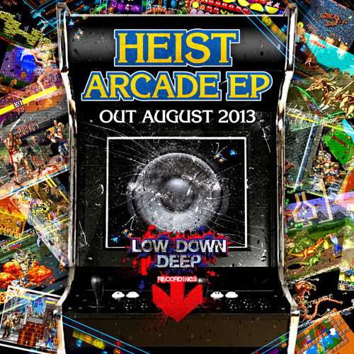 HEIST - CRUNCHY NUT BASS (MAJISTRATE REMIX) CLIP - LOW DOWN DEEP EP