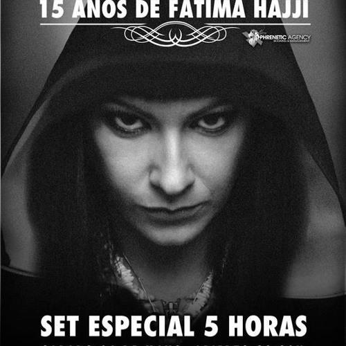 """""""La Noche De Fatima"""" - Fabrik Club 5 hours - 15 Years Maximafm"""